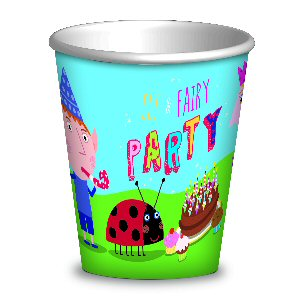 Ben and Holly Party Cups