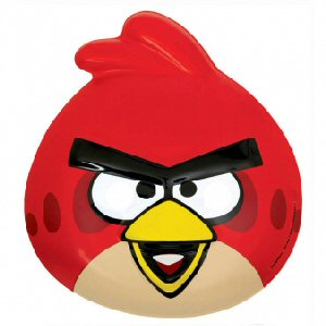 Angry Birds Red Vac Form Plastic Mask