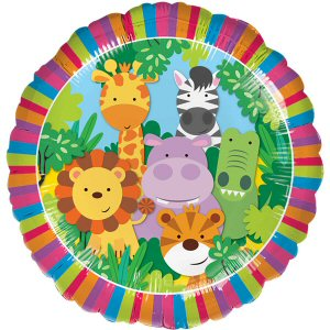 Jungle Friends Standard Foil Balloon
