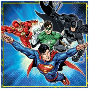 Justice League Paper Napkins