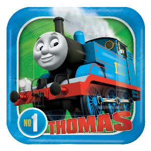 Thomas and Friends Paper Plates 18cm