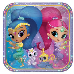 Shimmer and Shine Paper Plates 23cm