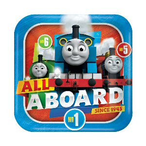 Thomas and Friends Paper Plates 23cm