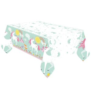 Magical Unicorn Plastic Tablecover