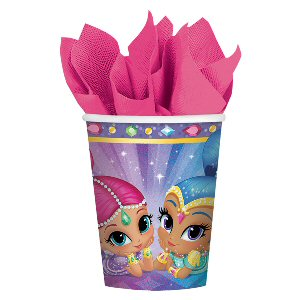 Shimmer and Shine Paper Cups 266ml