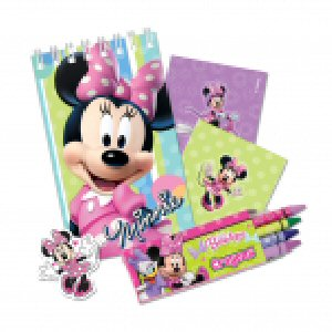 Minnie Mouse Pink Stationery Favour Packs