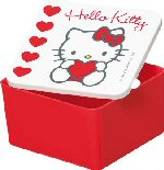 Hello Kitty Snack Container 560cc 116122