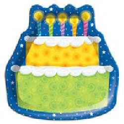 Birthday Cake Shaped party plates by Partyplus Ltd